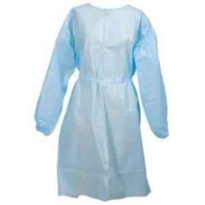 fluid resistant gown