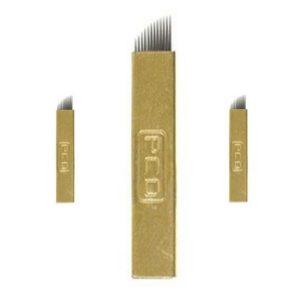 gold microblades