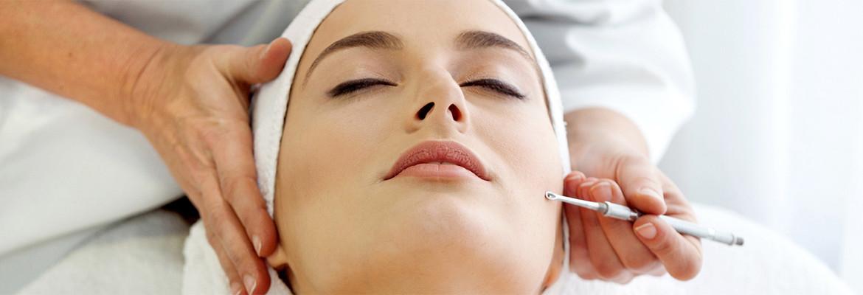 cosmetology facial application