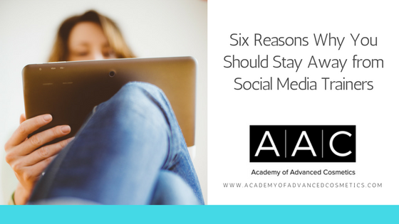 six reasons why you should stay away from social media trainers